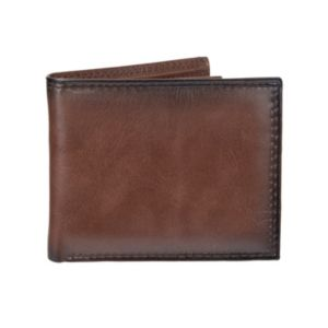 Men's Croft & Barrow® RFID-Blocking Extra-Capacity Slimfold Wallet